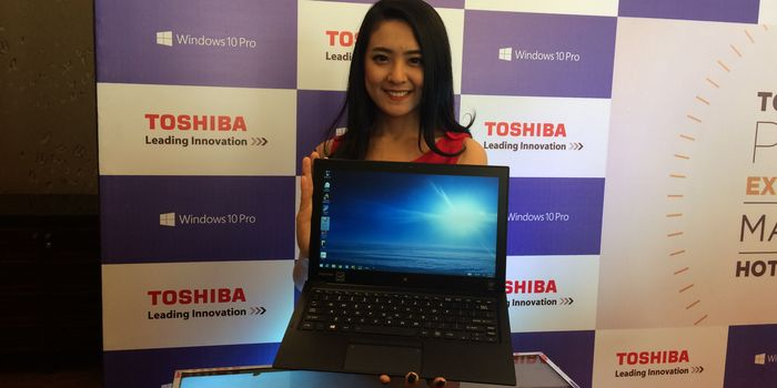Toshiba Portege X20W Header