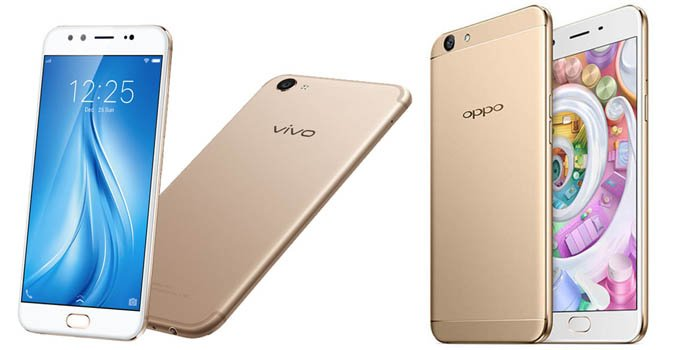 Vivo V5s vs OPPO F1s Header