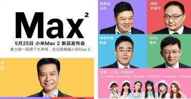 Xiaomi Mi Max 2 Feature Tanggal