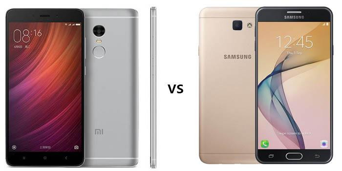Xiaomi Redmi Note 4 vs Samsung Galaxy J7 Prime Header