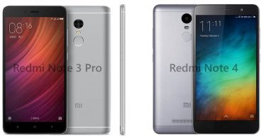 redmi note 3 pro vs redmi note 4 feature
