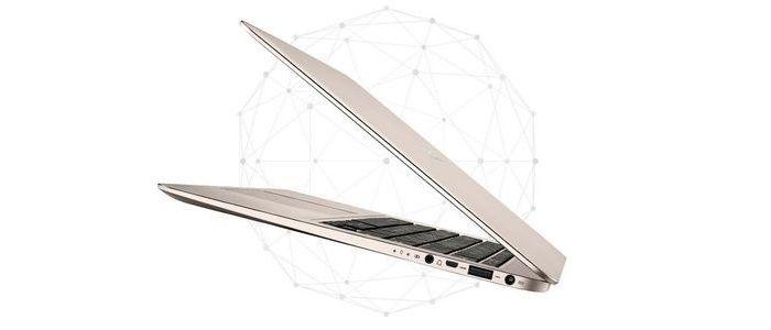 ASUS Zenbook UX305FA Samping