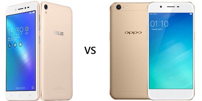 ASUS Zenfone Live vs OPPO A39 Header