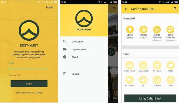Aplikasi Kost-Hunt