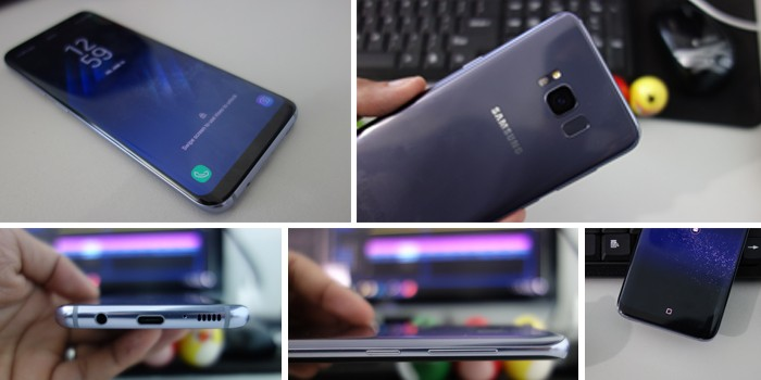 Review Samsung Galaxy S8 - Desain