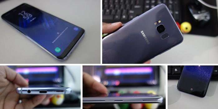 Samsung Galaxy S8 - Desain