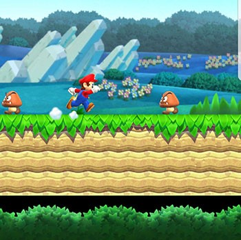 Review Samsung Galaxy S8 - Mario Run