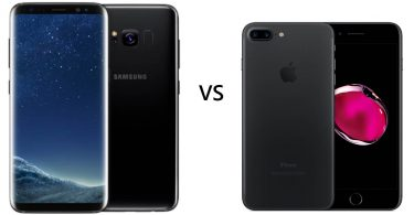 Samsung Galaxy S8 vs iPhone 7 Feature