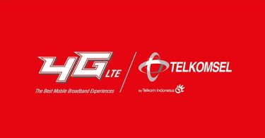 Telkomsel Logo Red Feature