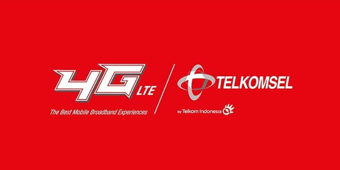 Telkomsel Logo Red Header