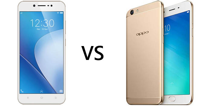 Vivo V5 Lite vs OPPO F1s Header
