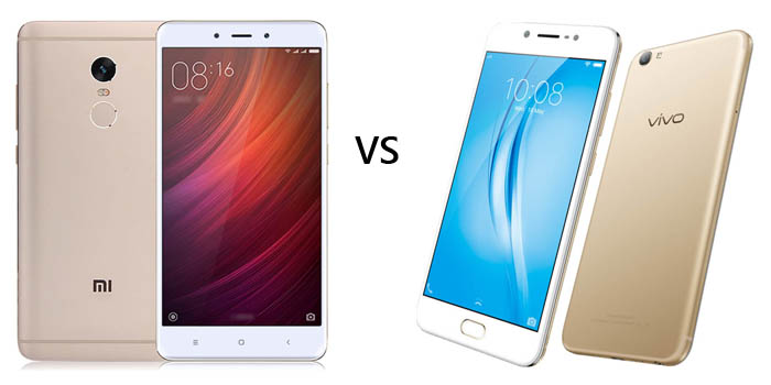 Vivo V5s vs Xiaomi Redmi Note 4 Header