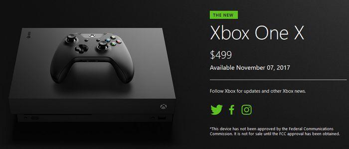 Xbox One X Harga