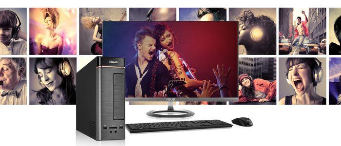 ASUS Vivo PC K20D Desain