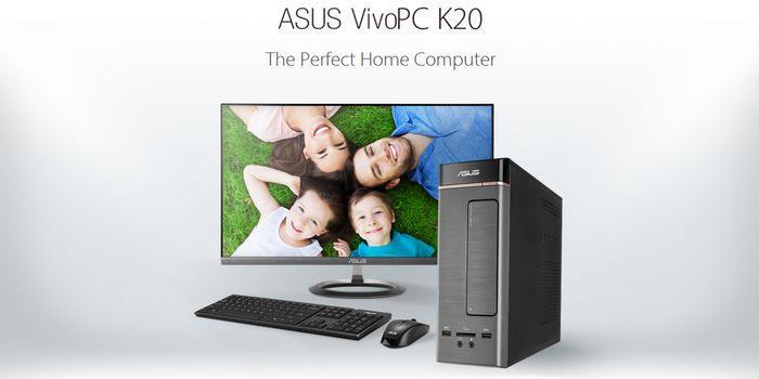 ASUS Vivo PC K20D Header