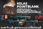 Event PB Garena Kelas PB Feature