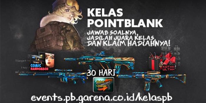 Kelas Point Blank Header