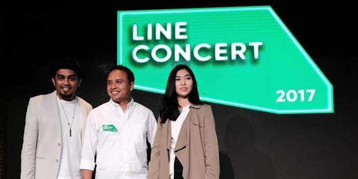 LINE Concert Header