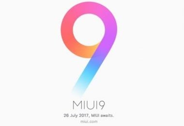MIUI 9 Logo Feature