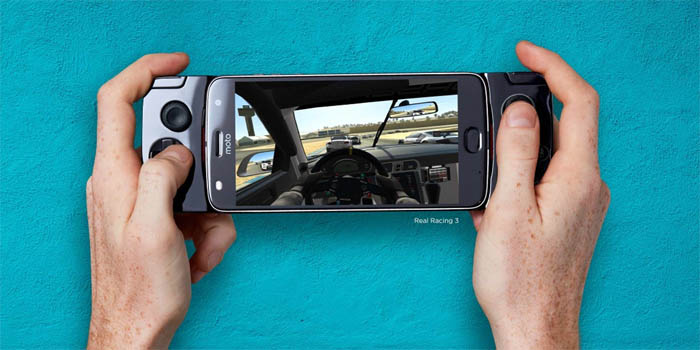 Moto Mods Gamepad Header