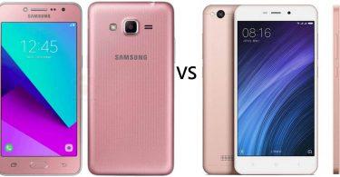 Samsung Galaxy J2 Prime vs Xiaomi Redmi 4A Feature