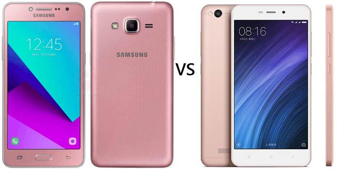 Samsung Galaxy J2 Prime vs Xiaomi Redmi 4A Header
