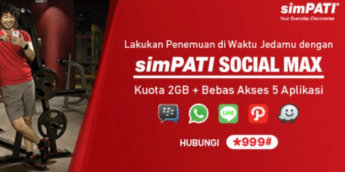 Paket Chat Telkomsel SocialMax Header