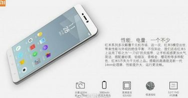 Xiaomi Redmi 5 Leaks Feature