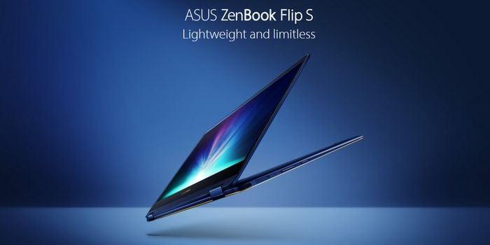 ASUS ZenBook Flip S Header