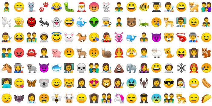 Android 8 Oreo Emoticon