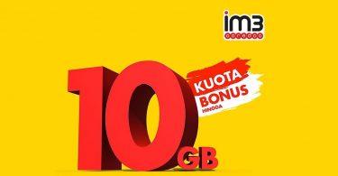 IM3 Ooredoo Bonus 10GB Featured