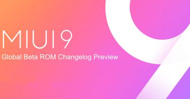 MIUI 9 Global Beta ROM Feature