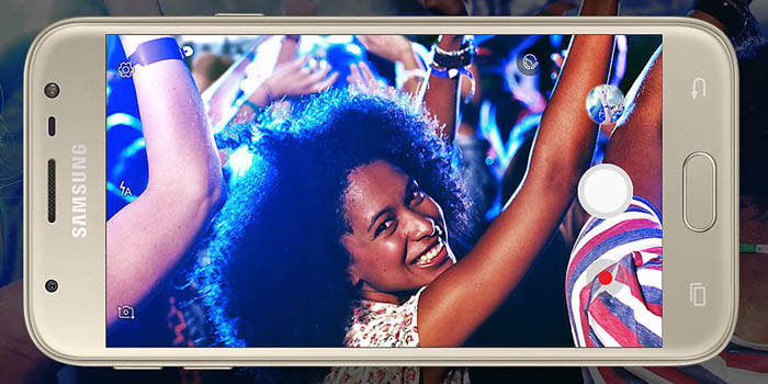 Samsung Galaxy J3 Pro Header