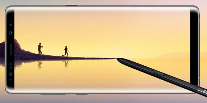 Samsung Galaxy Note 8 Header