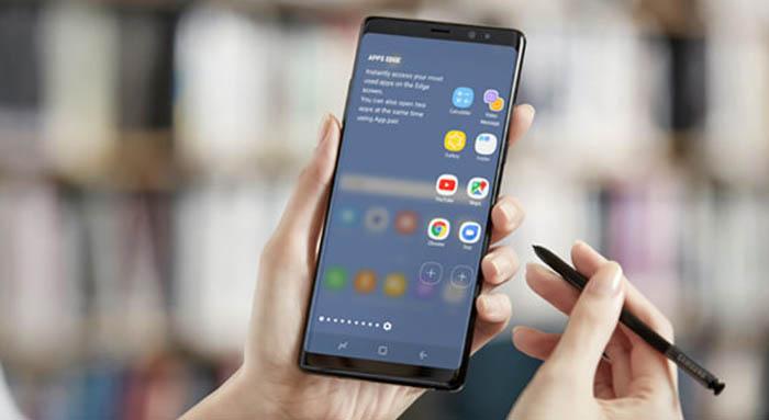Samsung Galaxy Note 8 Tulis