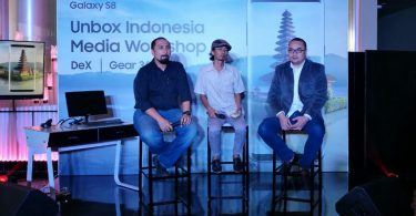 Samsung Galaxy S8 Unbox Indonesia Feature