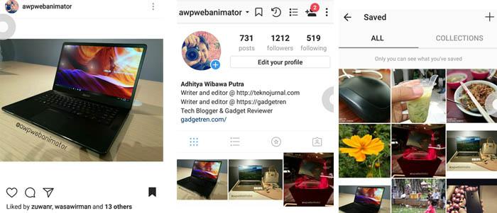 Cara Simpan Foto Instagram Collective