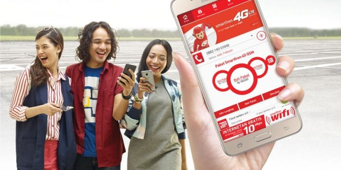 Paket Internet Unlimited Smartfren Header