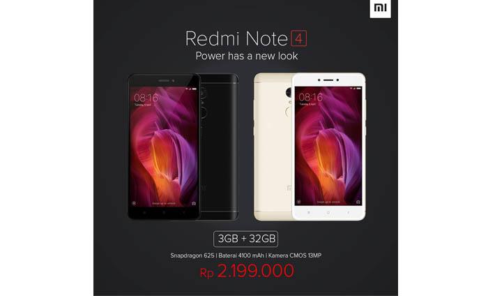Xiaomi Redmi Note 4 Turun Harga