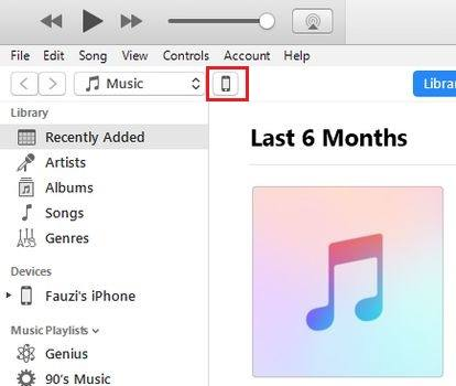 iTunes Foto Laptop ke iPhone Devices