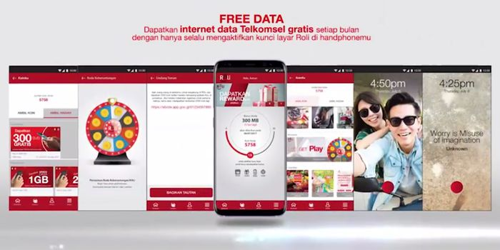 ROLi Telkomsel Kuota 300MB Header