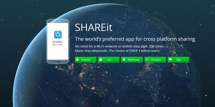 Cara Menggunakan SHAREit Dari Android ke iPhone Header