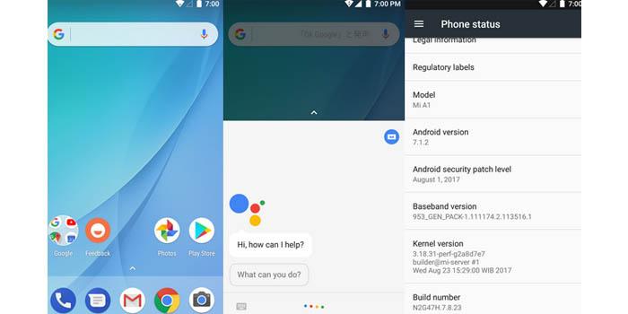 Xiaomi Mi 5X Android Nougat Porting