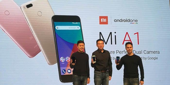 Xiaomi Mi A1 Petinggi