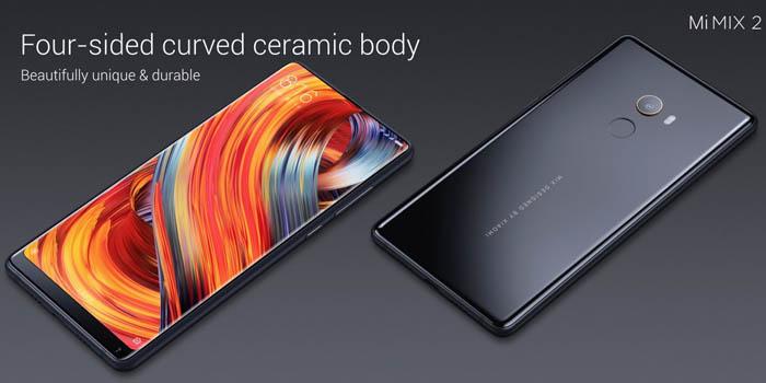 Xiaomi Mi Mix 2 Desain