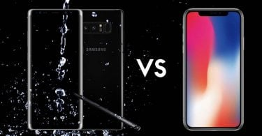 iPhone X vs Galaxy Note 8 Feature