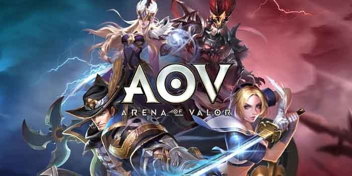 Cara Top Up Arena of Valor Header