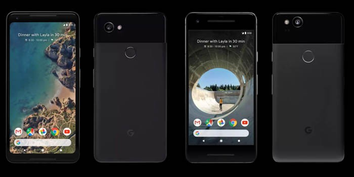 Google Pixel 2 dan Pixel 2 XL Header
