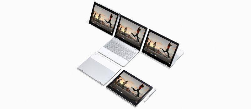Bentuk bentuk mode Pixelbook