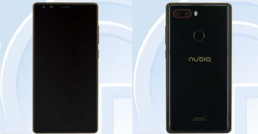 Nubia NX595J Feature